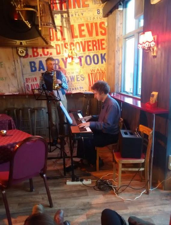 Jazz in the Bar: Sax and piano duo | Sunday 19th June