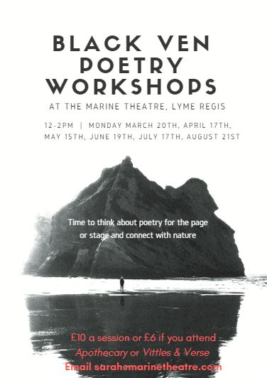 Black Ven Poetry Workshop| Monday 15th May