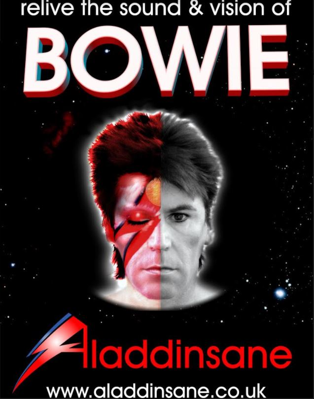 Aladdin Sane - A Tribute to the Late David Bowie | Friday 22 September