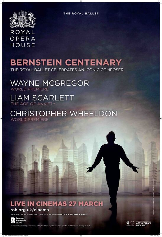 ROH: Royal Ballet Bernstein Centenary | Tuesday 27 March 7.15pm