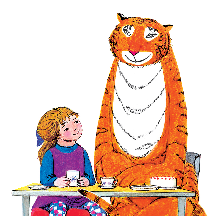 LYME REGIS CHILDREN'S WEEK: The Tiger Who Came To Tea Treasure Hunt | Thursday 5 April