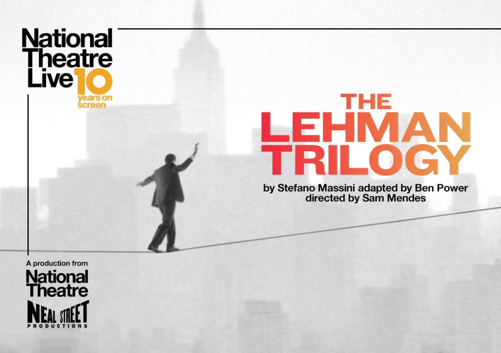 SCREENING | NATIONAL THEATRE LIVE: THE LEHMAN TRILOGY | THURSDAY 25 JULY
